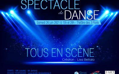 Spectacle de danse «Tous en Scène» 2021